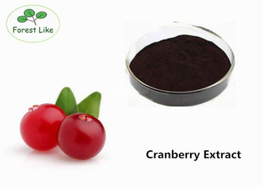 China Anthocyanin Extract Powder / Cranberry Extract Powder 25% Proanthocyanidins supplier
