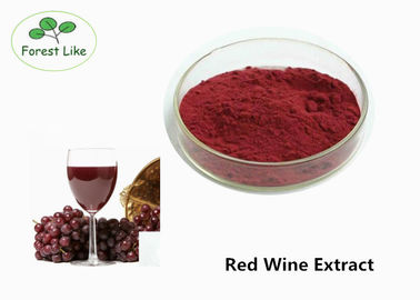 China Natural Antioxidant Red Wine Anthocyanin Extract Powder 30% Polyphenols Healthcare supplier