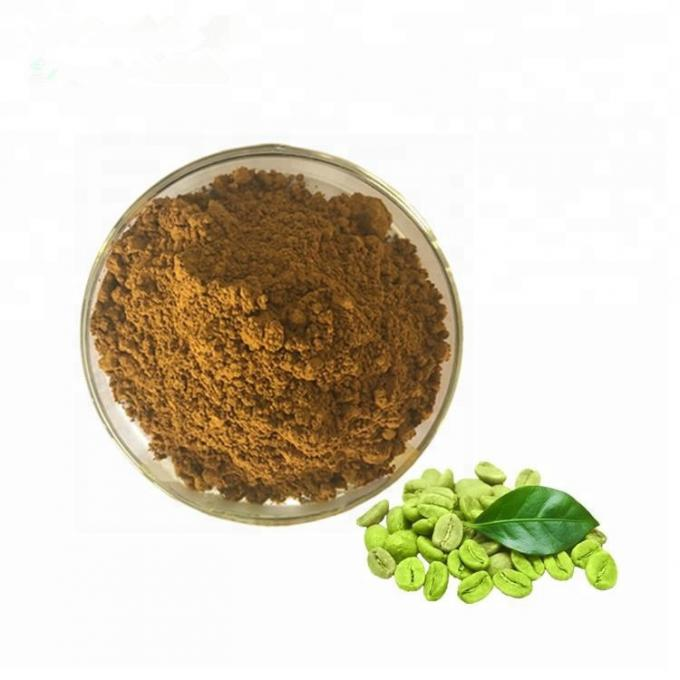 Green Coffee Bean Extract Natural Weight Loss Powder 50% Chlorogenic Acid